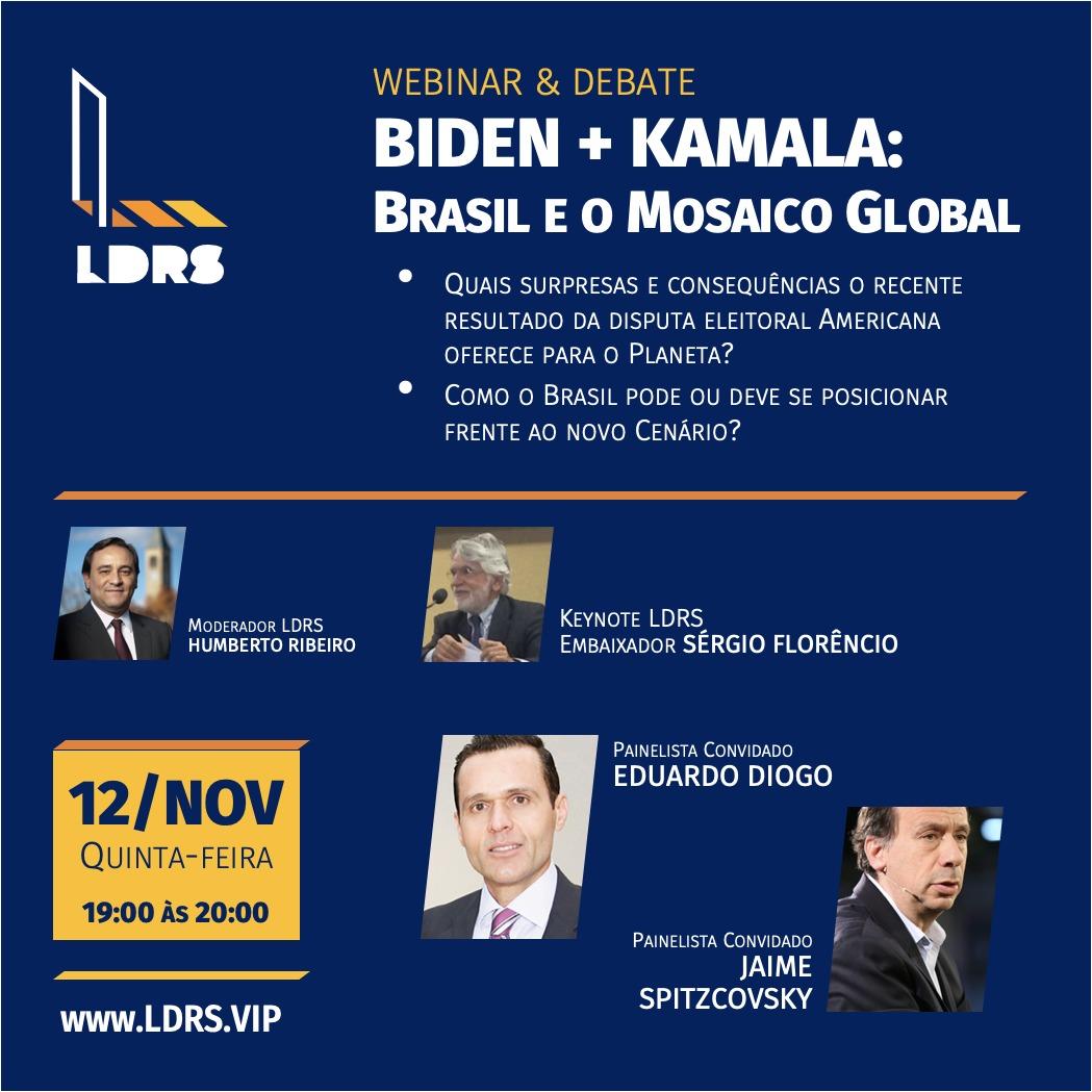Biden + Kamala: Brasil e o Mosaico Global
