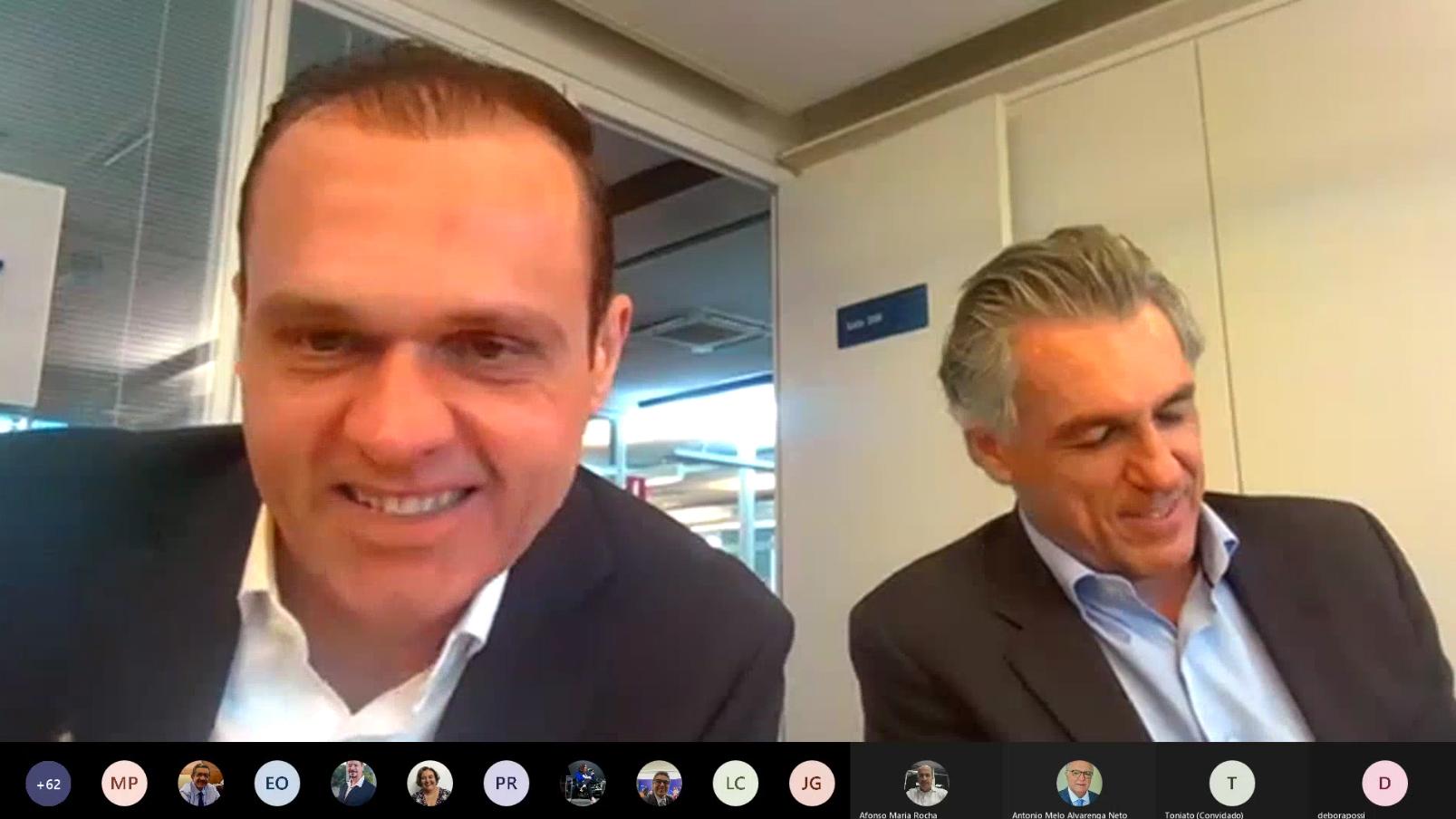 Reunião com o Diretor Guilherme Campos na Sede Nacional do Sebrae
