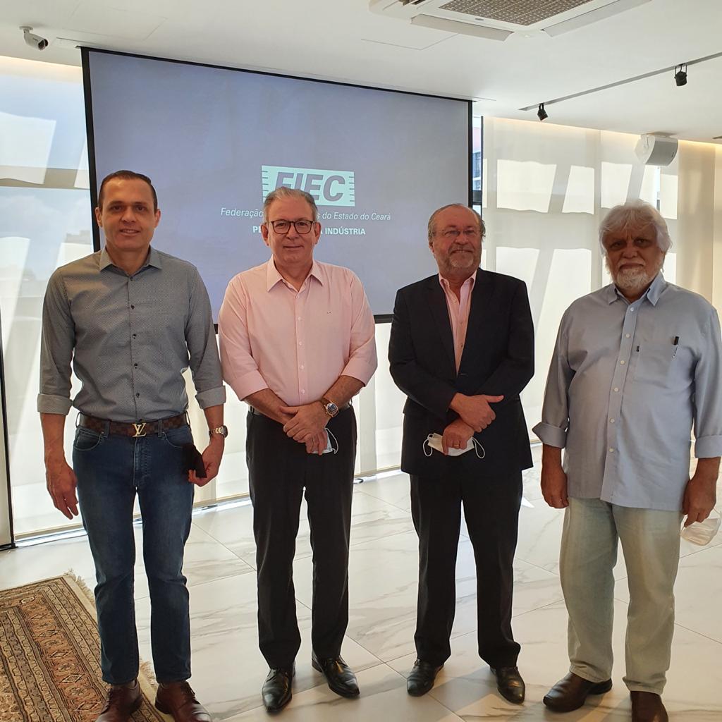 Reunião na Federação das Indústrias do Estado do Ceará