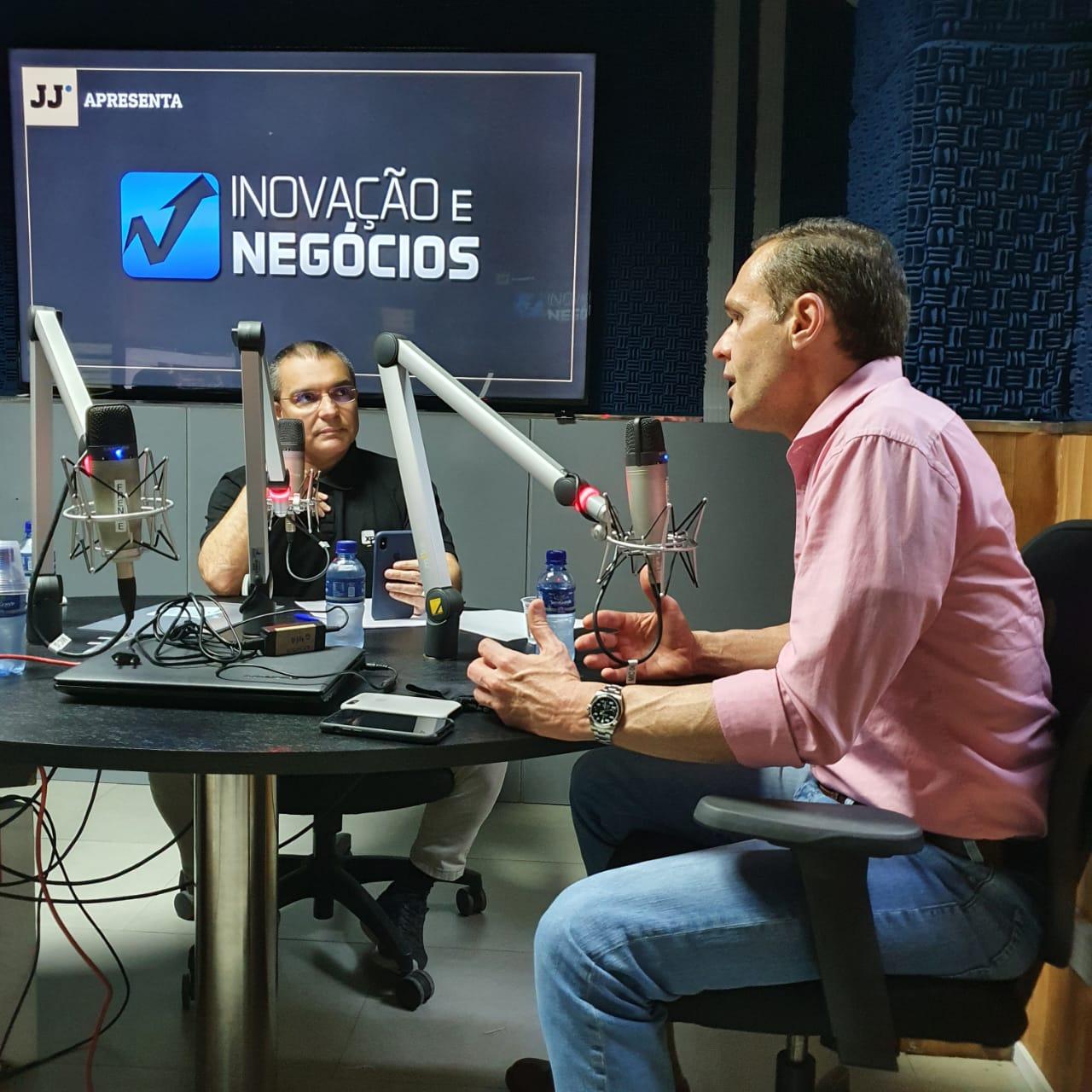 Entrevista no programa Inovação e Negócios