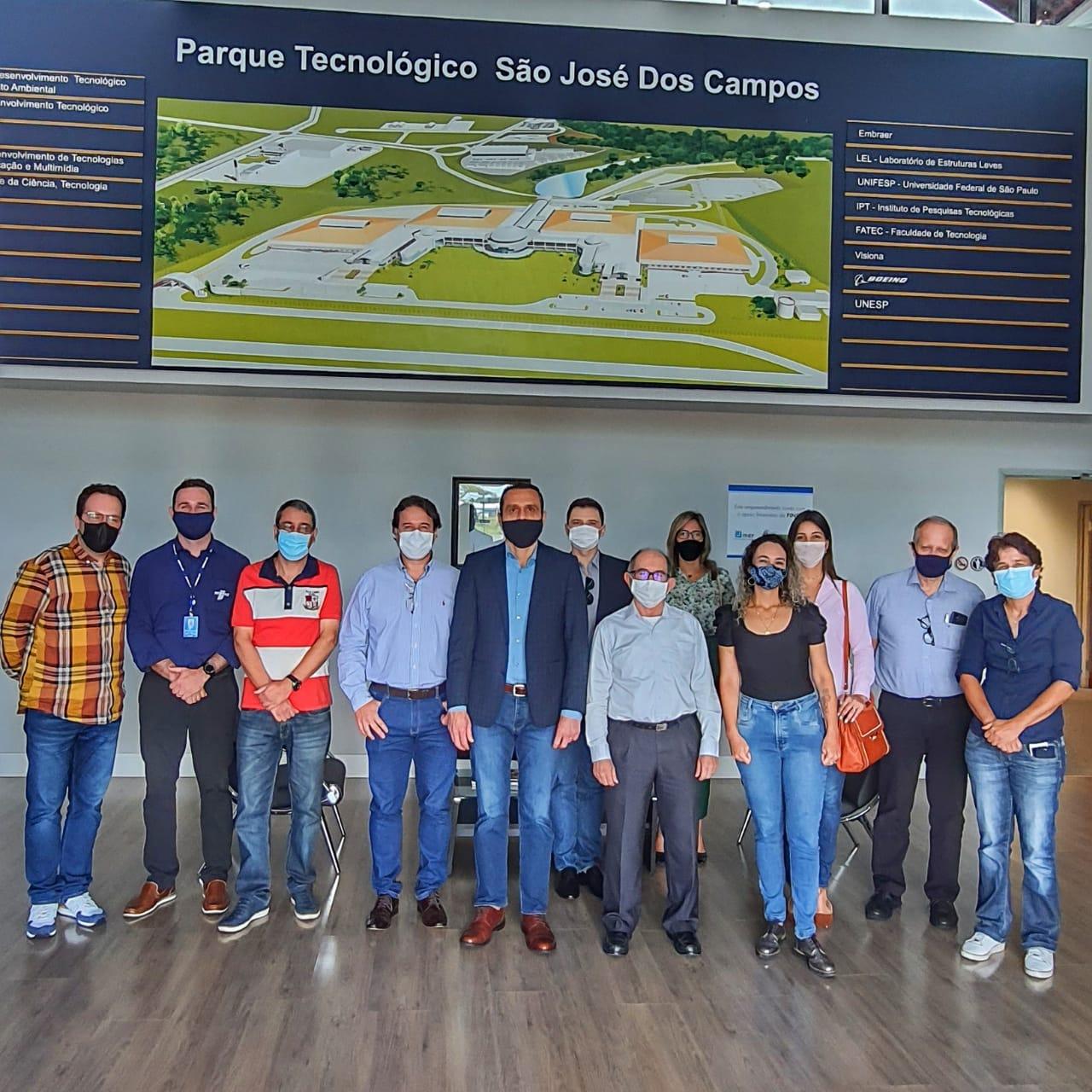 Visita ao Parque Tecnológico de São José dos Campos