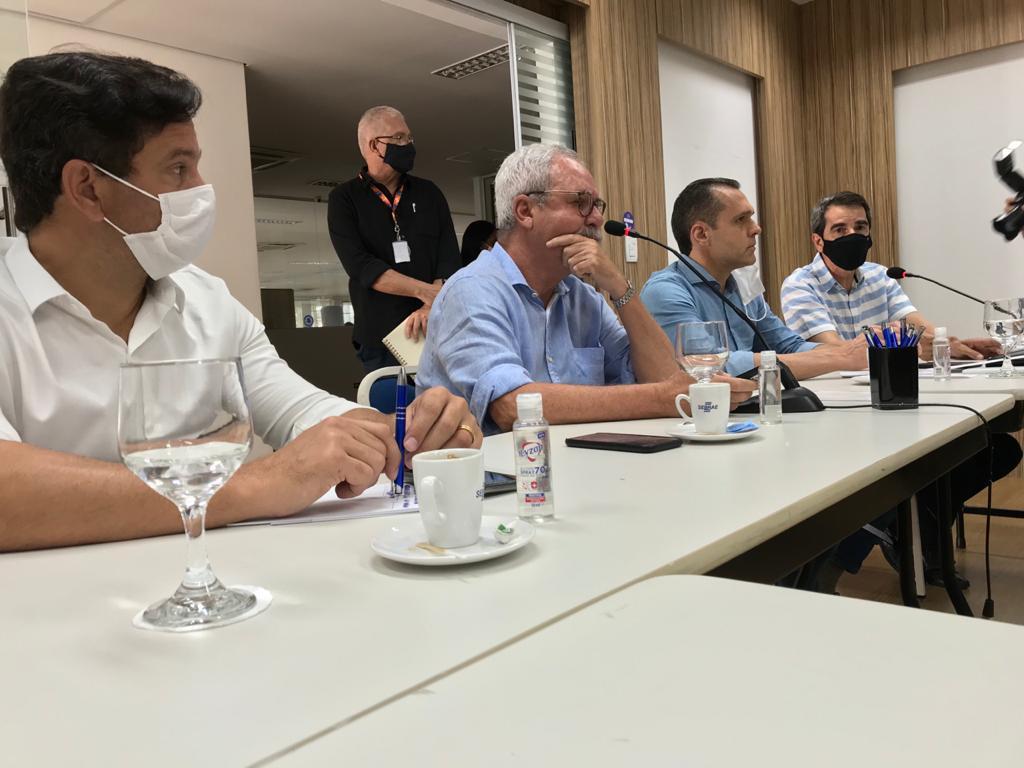 Reunião com a Diretoria e Gerentes do SEBRAE RN