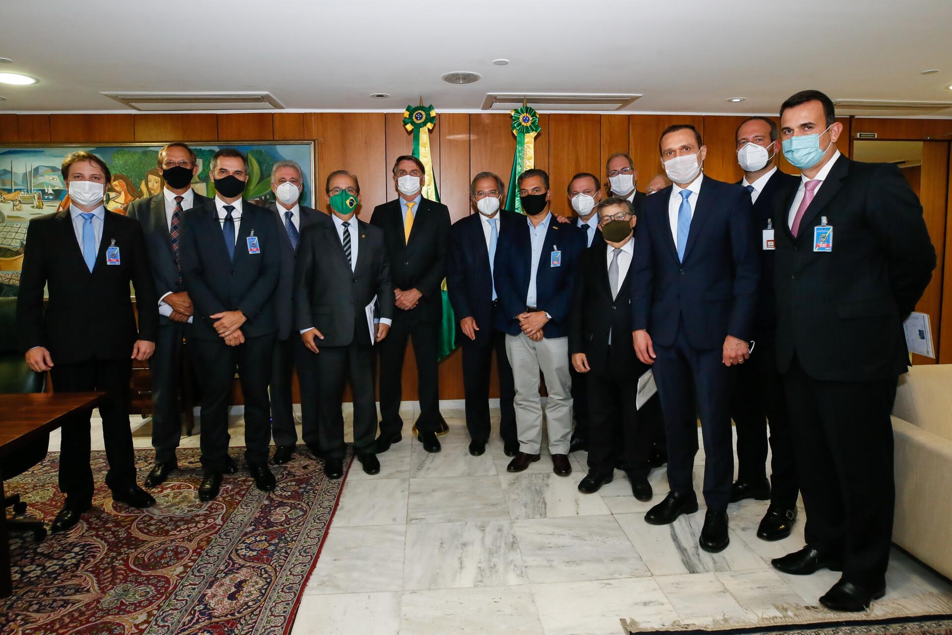 Reunião com o Presidente da República e presidentes de entidades representantes das Micro e Pequenas Empresas
