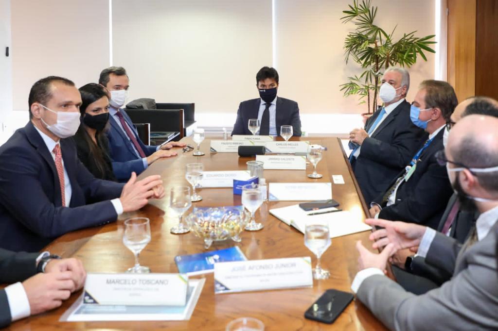 Reunião com Ministro de Estado das Comunicações, Fábio Faria