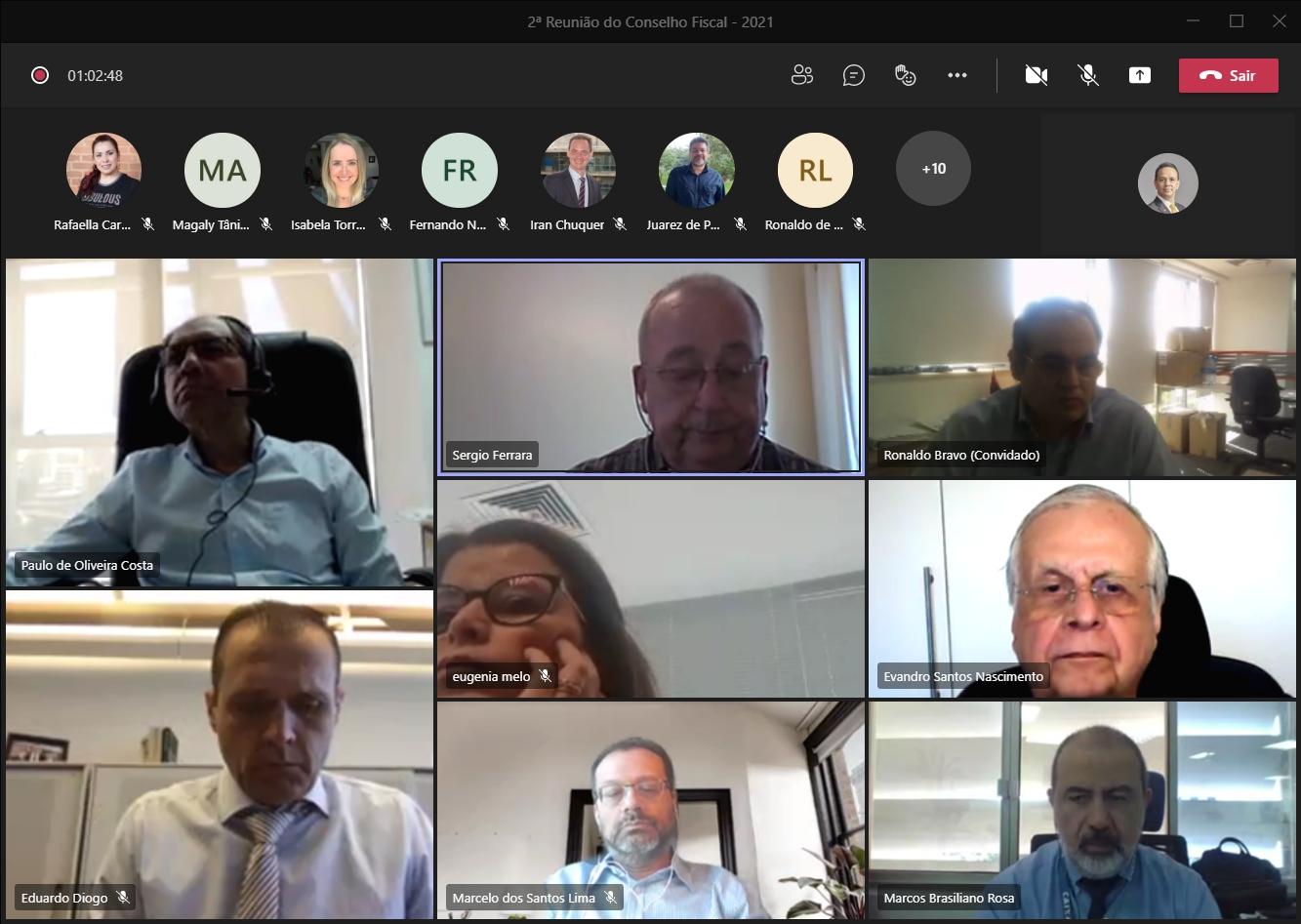 2ª Reunião do Conselho Fiscal – 2021