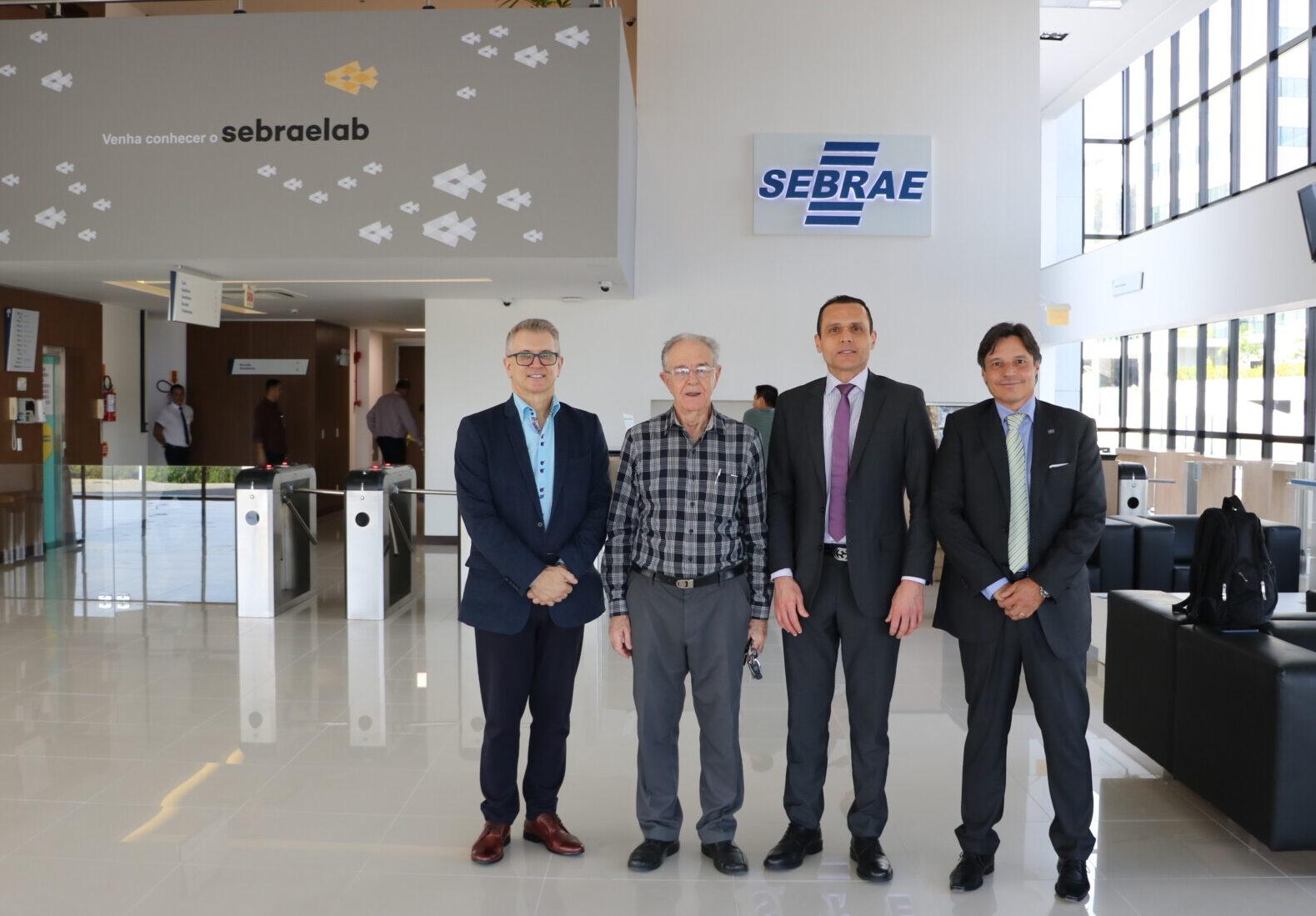 Visita ao Sebrae/SC