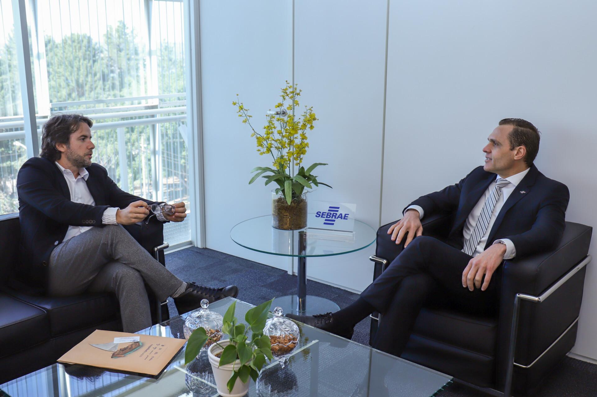 Reunião com Ciro Tomaz do SBT Nordeste