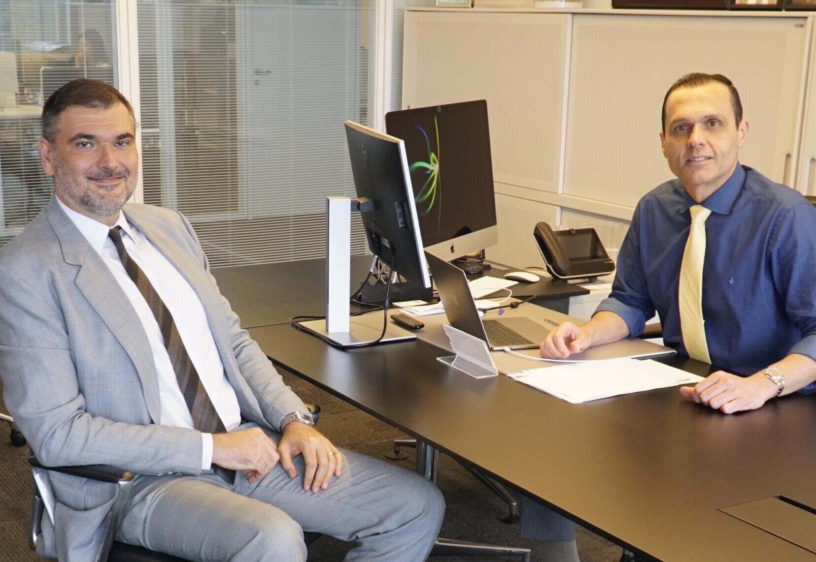 Reunião com Leonardo Enge