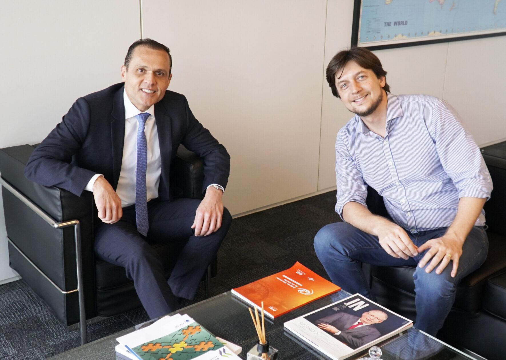 Reunião com Alexandre Guerra