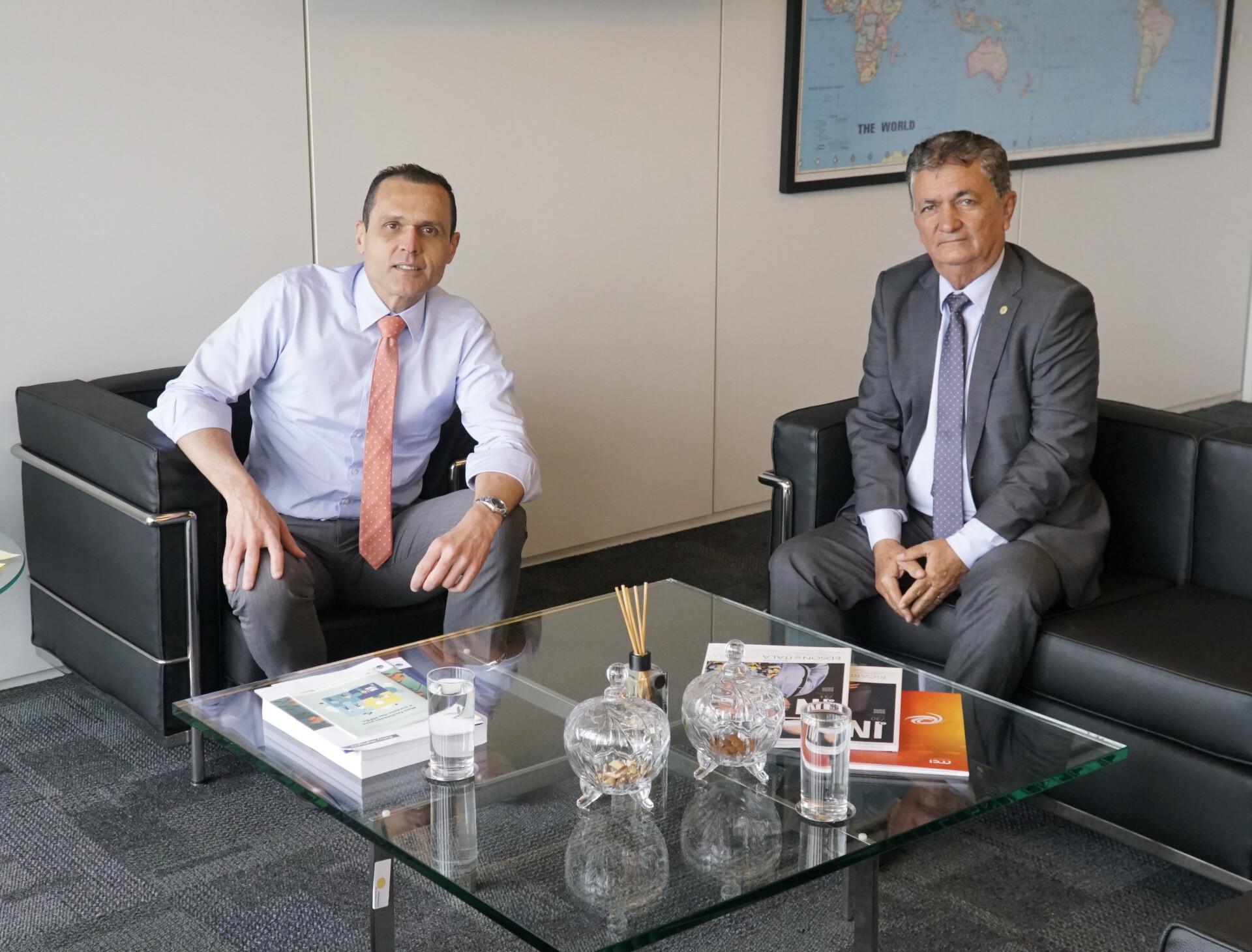 Reunião com Sr. Mario Borba