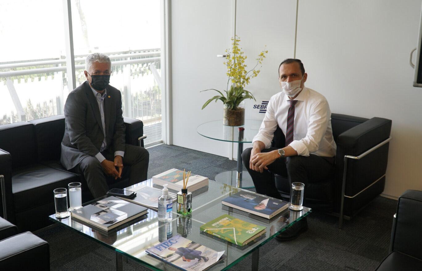 Visita de Mário Borba – Diretor-Secretário da CNA