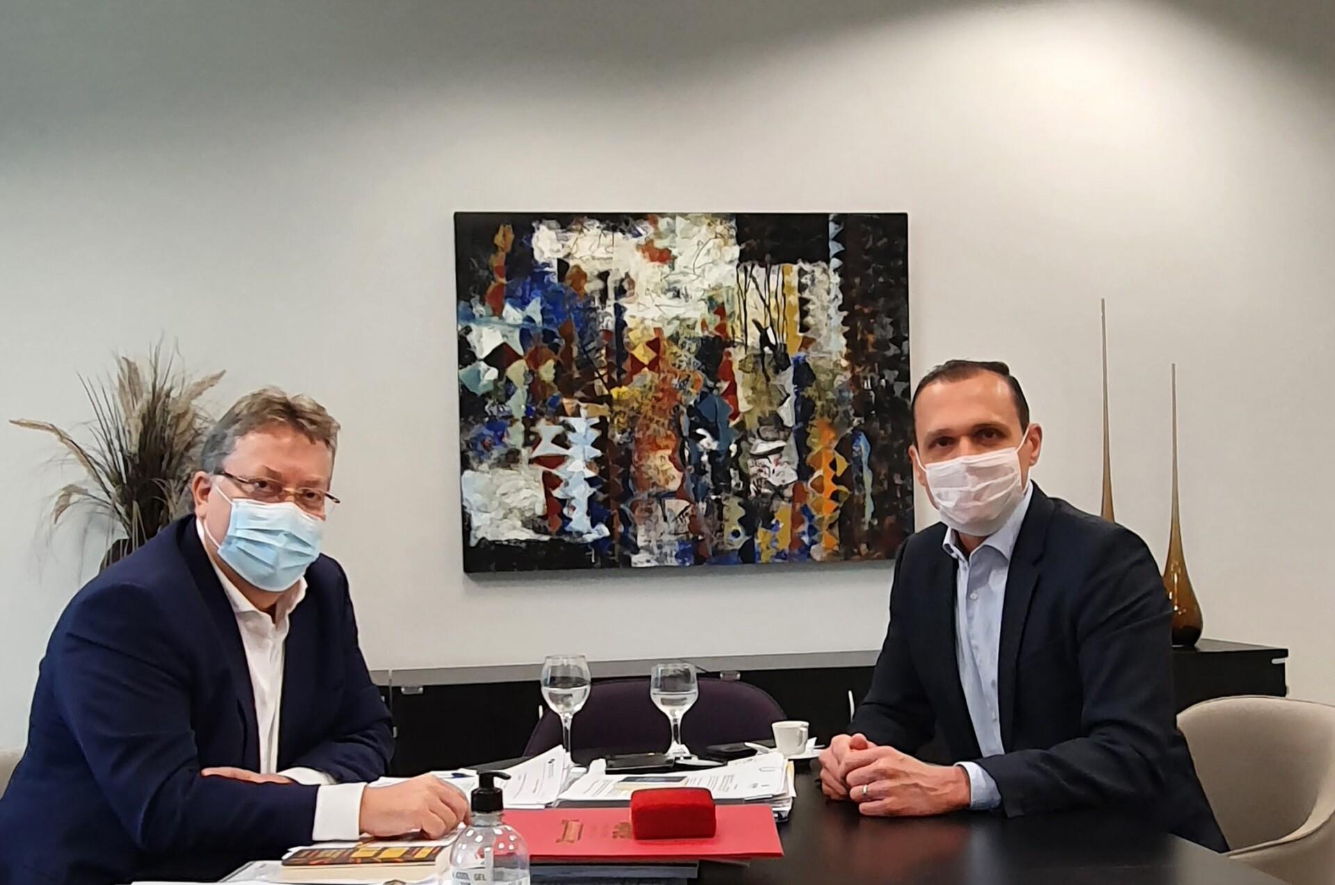 Reunião com Presidente Valdomiro Távora – TCE CE
