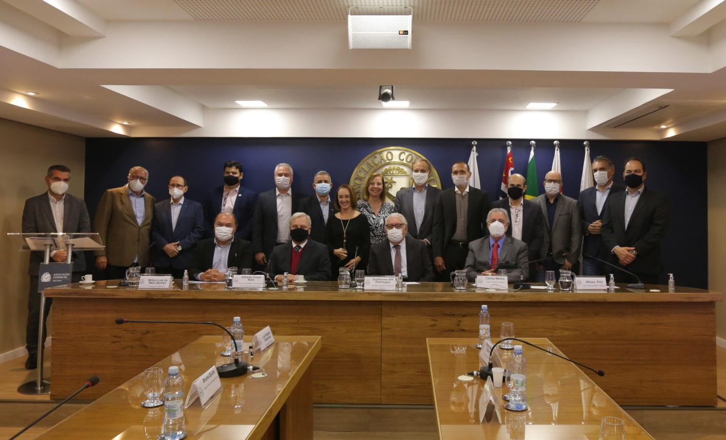 Reunião Técnica na Associação Comercial de São Paulo